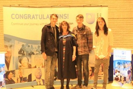 Graduation Torquay 2014-15