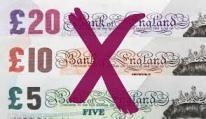 money crossed