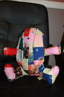 Patchwork memory toy