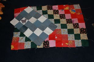 Quilt tops denim