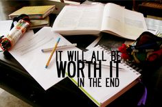 end of study
